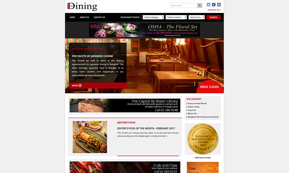 Bangkok Best Dining